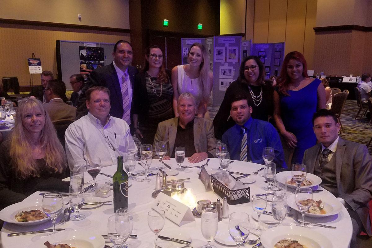 The SunDance Crew Celebrating a Big Win at PAF 2017!