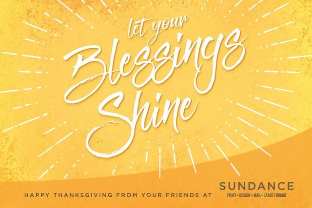 Happy Thanksgiving from SunDance