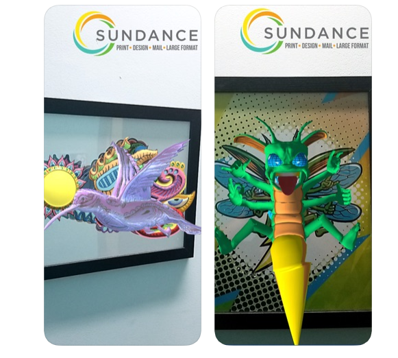 sundance augmented reality print integration-1