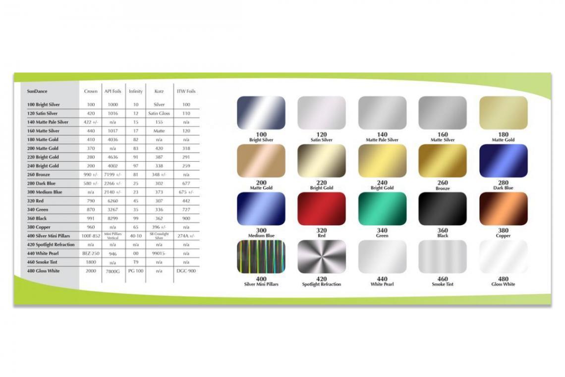 SunDance Foil Brochure