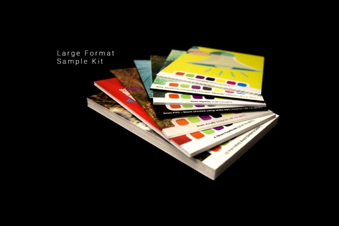 SUNDANCE LARGE FORMAT SAMPLE BOX