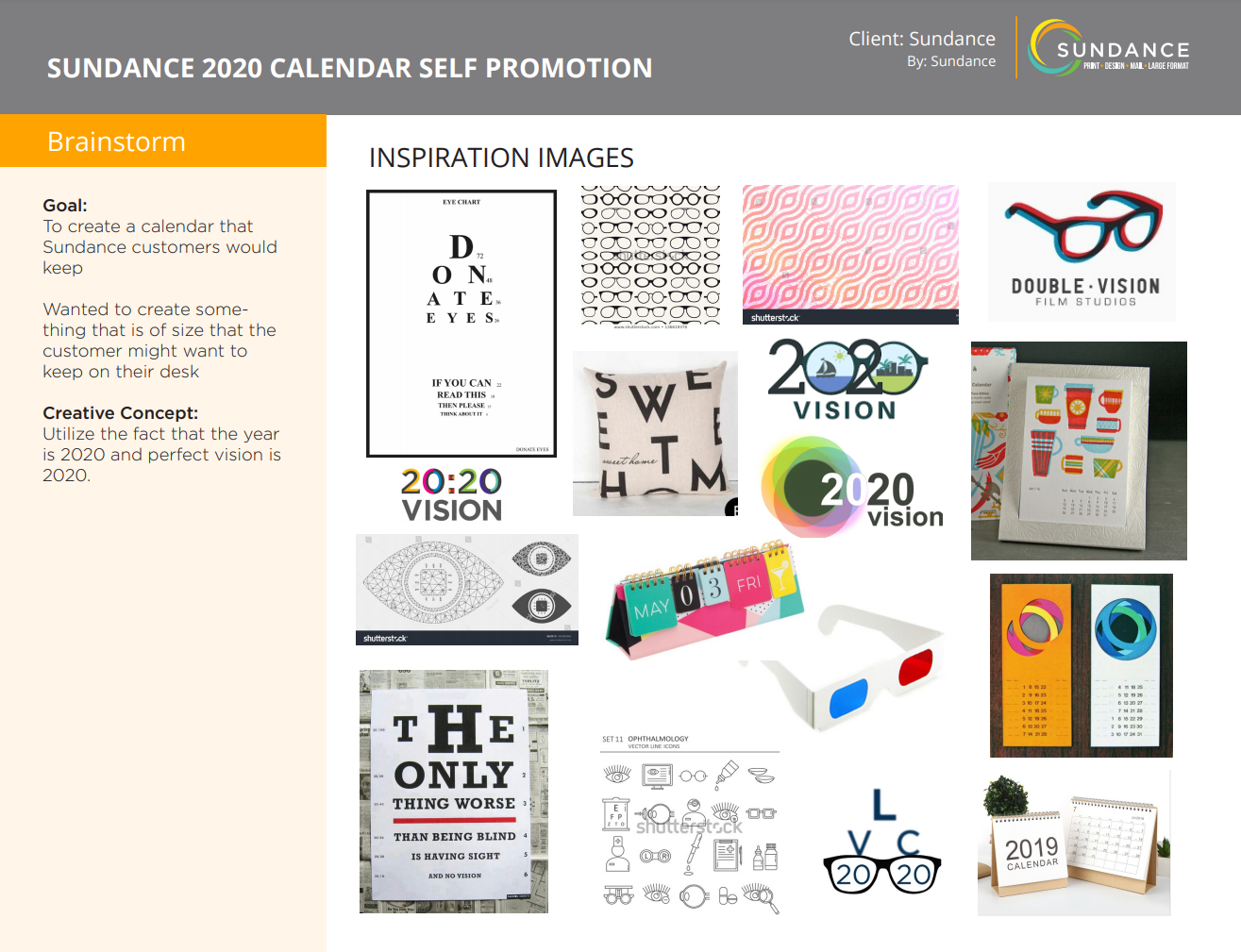Promotional Calendar: The Production Process