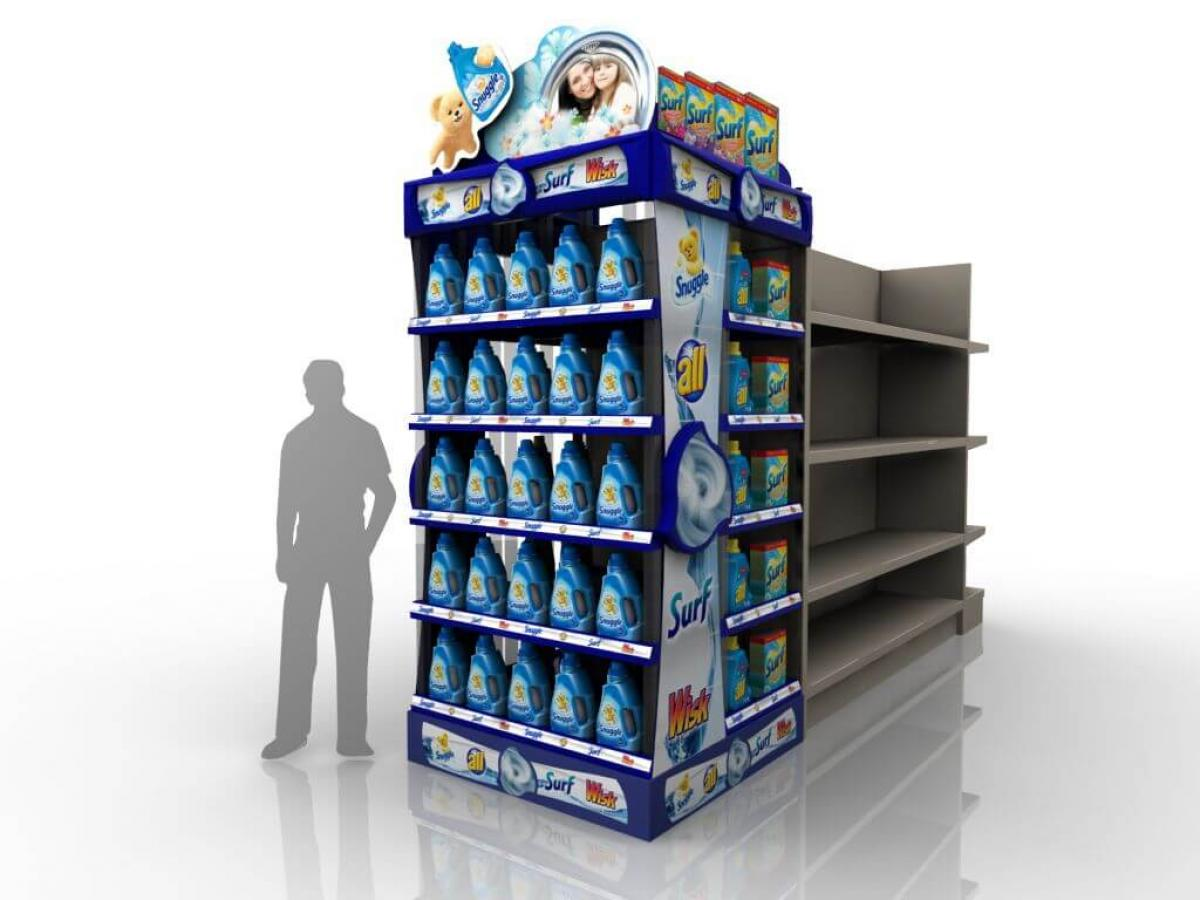 Elevate Your Brand with an Endcap Display
