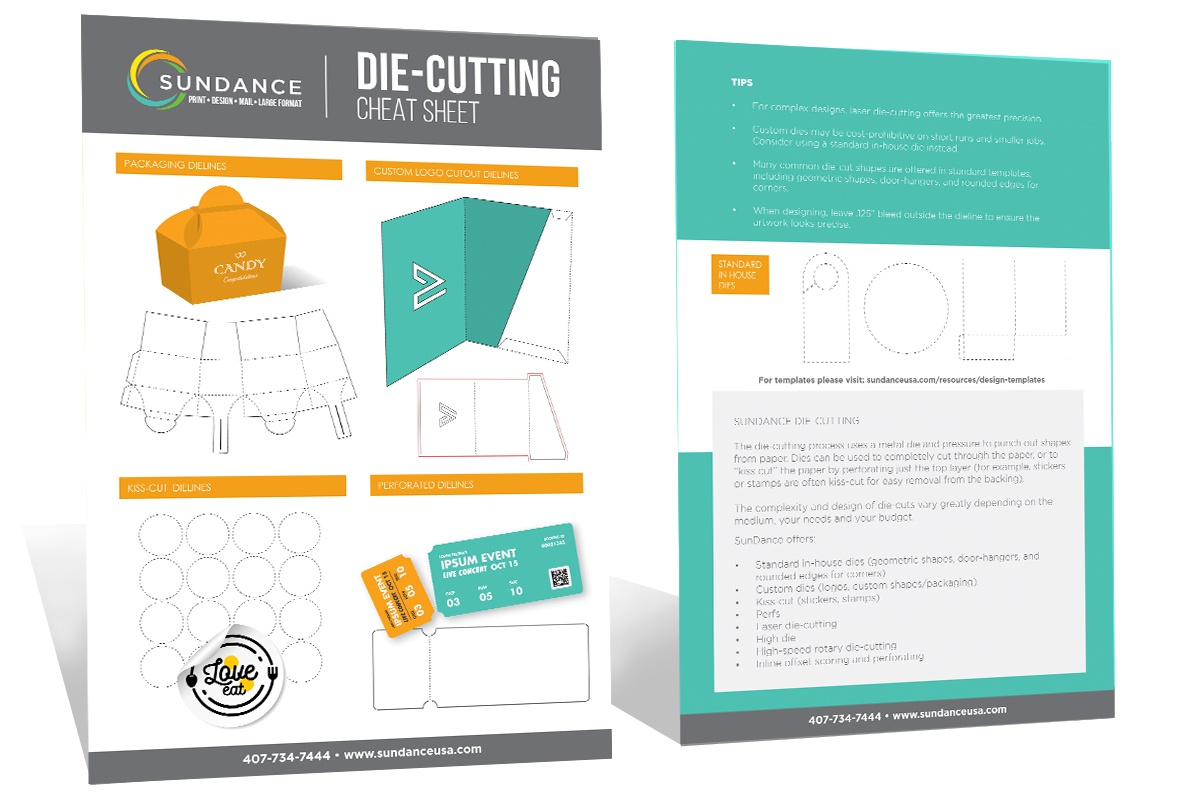 Cheat Sheet - Diecutting