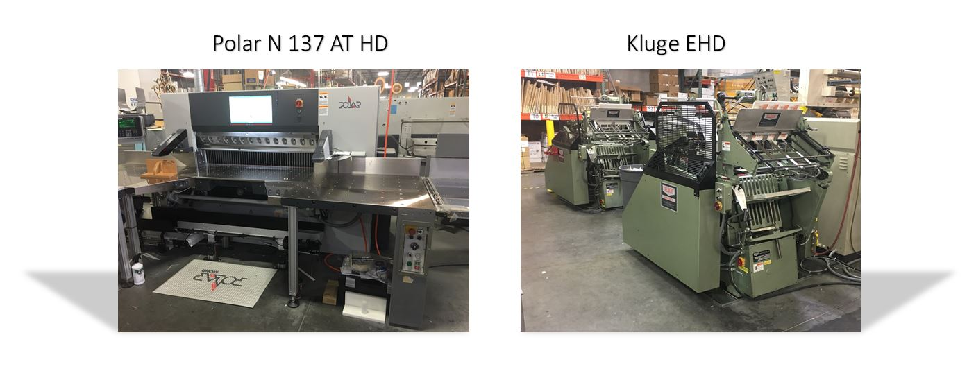 SunDance Acquires New EHD Series Kluge Die Cutter and Polar High-Speed Cutter