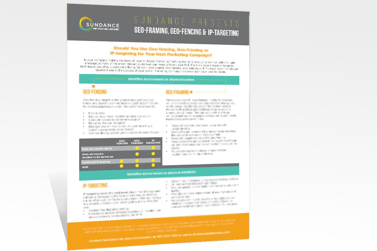 SunDance - Orlando Printing • Design • Mail • Large Format - News ...