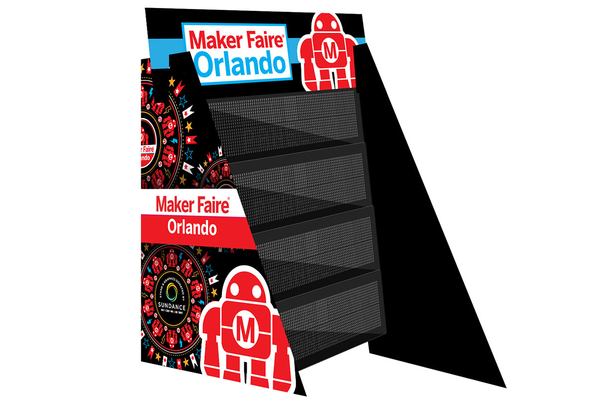Maker Faire Orlando Custom Sign Project