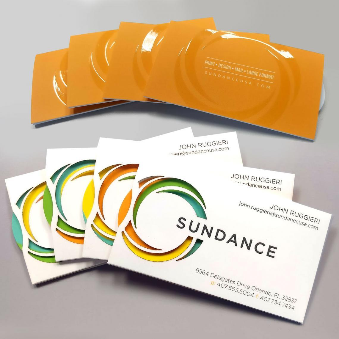 Video - SunDance's Spinning Business Card on 60 Second Fold