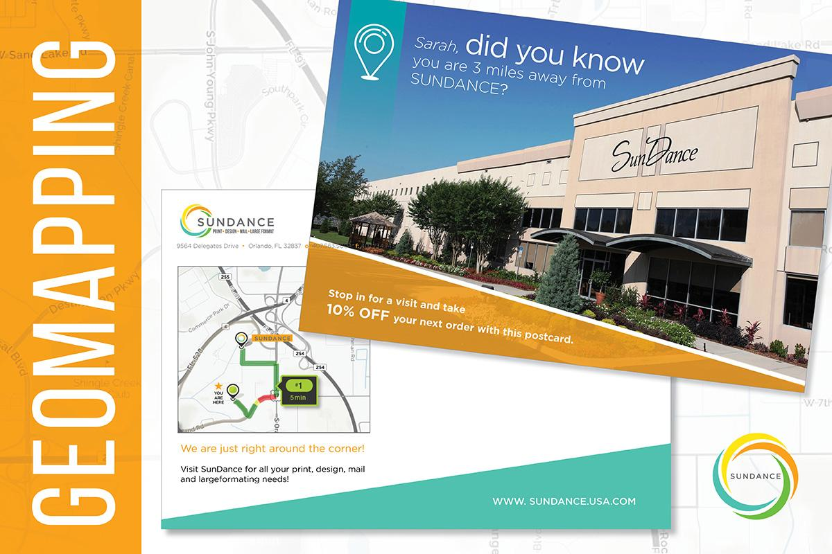 Target Local Prospects with Geo Mapping Direct Mail