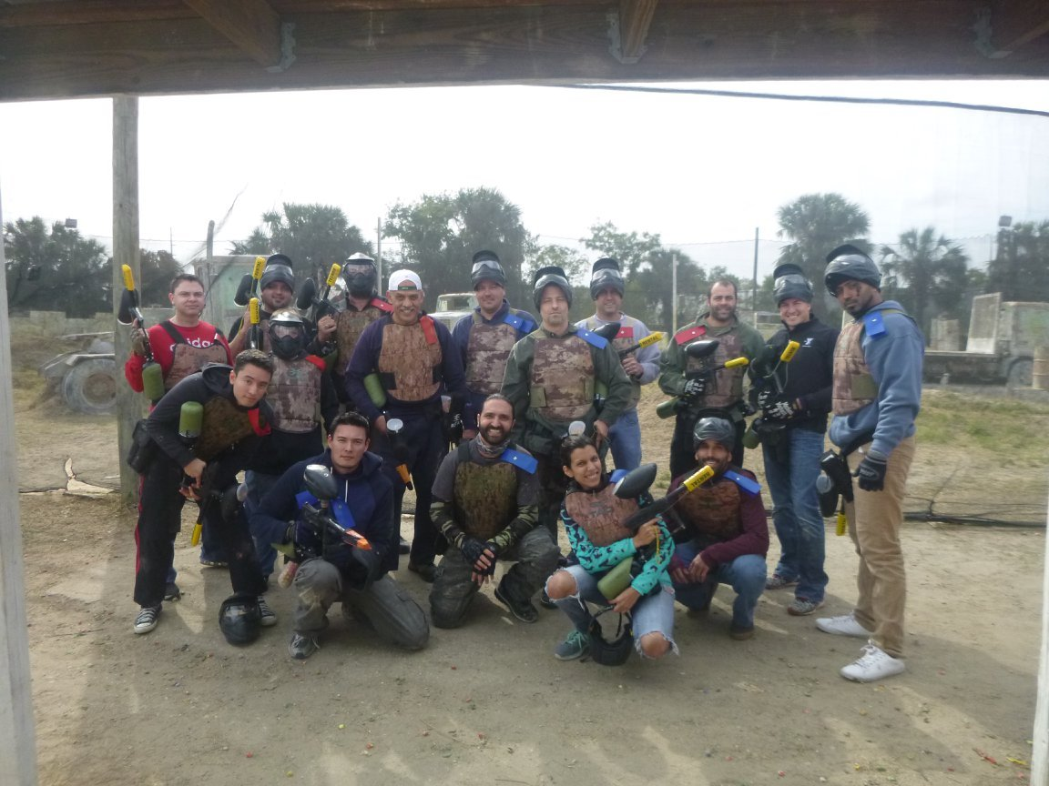 SunDance Team Paintball Event